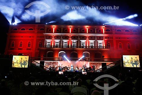 Assunto: Show ?Pop Ópera? no Largo São Sebastião - parte da programação do 18º Festival Amazonas de Ópera / Local: Manaus - Amazonas (AM) - Brasil / Data: 06/2014