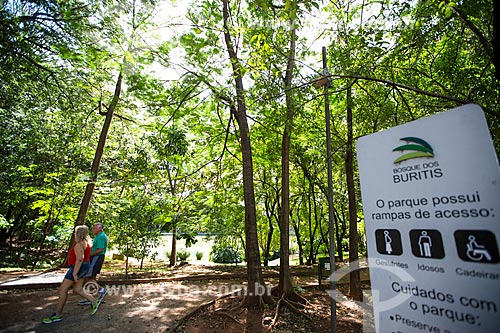 Assunto: Bosque dos Buritis / Local: Goiânia - Goiás (GO) - Brasil / Data: 05/2014