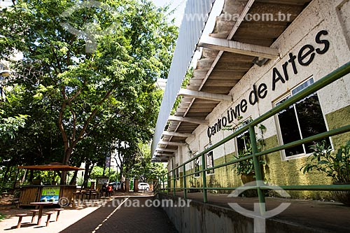 Assunto: Fachada do Centro Livre de Artes do Bosque dos Buritis / Local: Goiânia - Goiás (GO) - Brasil / Data: 05/2014