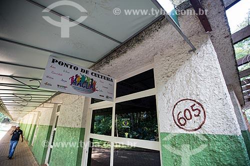 Assunto: Entrada do Ponto de Cultura do Centro Livre de Artes do Bosque dos Buritis / Local: Goiânia - Goiás (GO) - Brasil / Data: 05/2014
