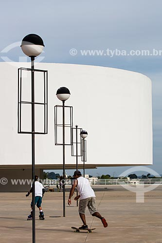 Assunto: Museu de Arte Contemporânea (2006) - parte do Centro Cultural Oscar Niemeyer / Local: Goiânia - Goiás (GO) - Brasil / Data: 05/2014