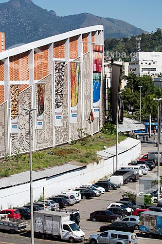 Assunto: Fachada e estacionamento do Centro Luiz Gonzaga de Tradições Nordestinas / Local: São Cristovão - Rio de Janeiro (RJ) - Brasil / Data: 05/2014