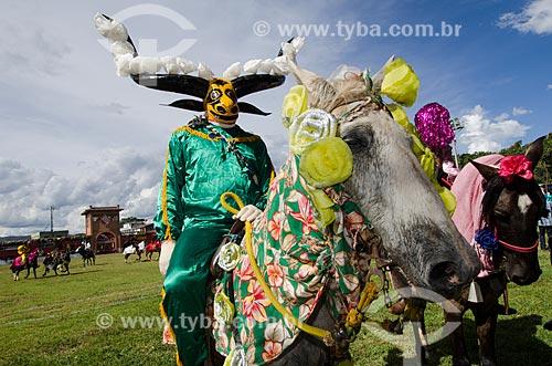 Assunto: Mascarados na Festa do Divino Espiríto Santo / Local: Pirenópolis - Goiás (GO) - Brasil / Data: 05/2012
