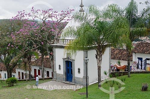 Assunto: Vista dos Passos da Paixão - Santuário de Bom Jesus de Matosinhos / Local: Congonhas - Minas Gerais (MG) - Brasil  / Data: 06/2012
