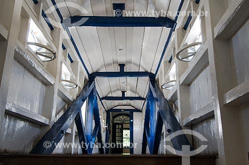 Assunto: Interior do Passadiço da Casa da Glória - Localizado na Rua da Glória / Local: Diamantina - Minas Gerais (MG) - Brasil / Data: 06/2012
