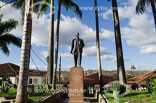 Assunto: Monumento ao ex-Presidente da República Juscelino Kubitschek, nascido em Diamantina  / Local: Diamantina - Minas Gerais (MG) - Brasil / Data: 06/2012