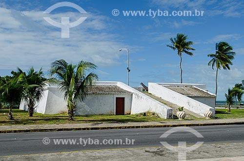 Assunto: Vista do Forte de São Francisco ou Forte do Queijo / Local: Olinda - Pernambuco (PE) - Brasil / Data: 07/2012
