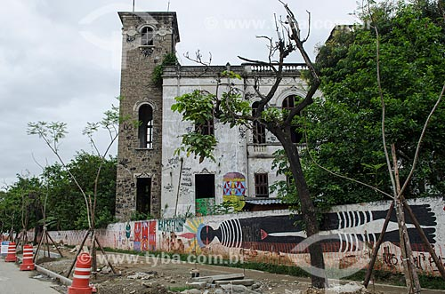 Assunto: Prédio do Antigo Museu do Índio (1862)  na Rua Mata Machado / Local: Maracanã - Rio de Janeiro (RJ) - Brasil / Data: 03/2013