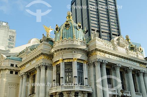 Assunto: Fachada do Teatro Municipal do Rio de Janeiro / Local: Centro - Rio de Janeiro (RJ) - Brasil / Data: 10/2013