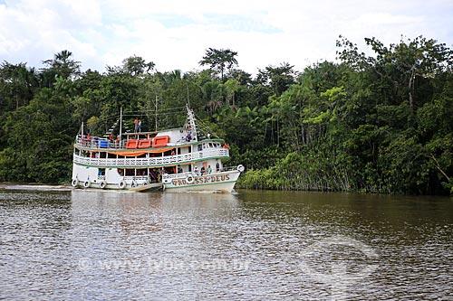 Assunto: Barco no Rio Macujubim / Local: Breves - Pará (PA) - Brasil / Data: 03/2014