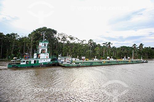 Assunto: Transporte de combustível no Rio Tapajuru / Local: Breves - Pará (PA) - Brasil / Data: 03/2014