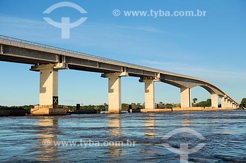 Assunto: Ponte Rondônia-Amazonas após à cheia do Rio Madeira / Local: Porto Velho - Rondônia (RO) - Brasil / Data: 04/2014