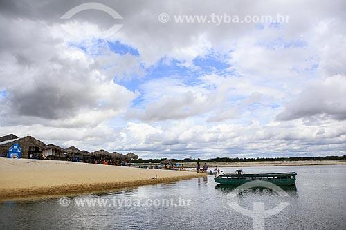 Assunto: Praia na Vila de Jericoacoara / Local: Jijoca de Jericoacoara - Ceará (CE) - Brasil / Data: 03/2014