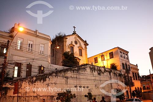 Assunto: Igreja de São Francisco da Prainha (1696) / Local: Saúde - Rio de Janeiro (RJ) - Brasil / Data: 07/2012