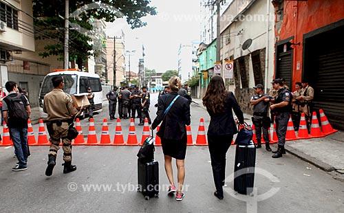 Assunto: Rua inerditada antes jogo no Estádio Jornalista Mário Filho - também conhecido como Maracanã / Local: Maracanã - Rio de Janeiro (RJ) - Brasil / Data: 06/2014
