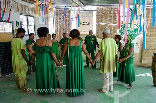 Assunto: Grupo Cultural Jongo da Serrinha / Local: Rio de Janeiro (RJ) - Brasil / Data: 08/2012