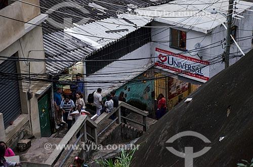 Assunto: Igreja Universal do Reino de Deus no Morro dos Prazeres / Local: Santa Teresa - Rio de Janeiro (RJ) - Brasil / Data: 07/2013