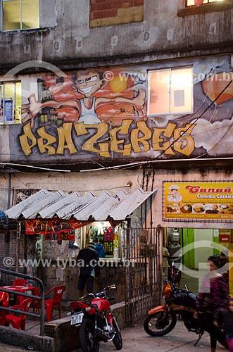 Assunto: Bar no Morro dos Prazeres / Local: Santa Teresa - Rio de Janeiro (RJ) - Brasil / Data: 07/2013