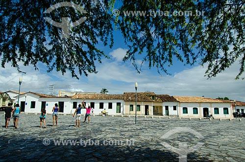 Assunto: Casas do centro histórico / Local: São Cristóvão - Sergipe (SE) - Brasil / Data: 08/2013