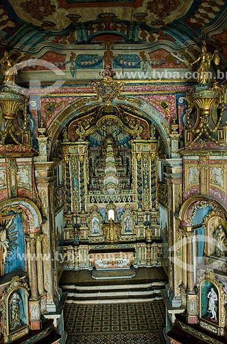 Assunto: Interior da Igreja de Nossa Senhora da Corrente / Local: Penedo - Alagoas (AL) - Brasil / Data: 08/2013