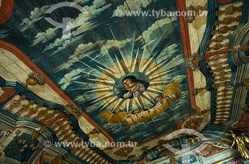 Assunto: Teto da Igreja de Nossa Senhora da Corrente / Local: Penedo - Alagoas (AL) - Brasil / Data: 08/2013