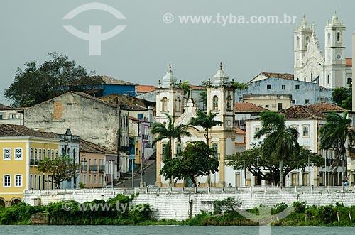 Assunto: Igreja de Nossa Senhora da Corrente e Igreja Matriz Nossa Senhora do Rosário - Catedral Diocesana / Local: Penedo - Alagoas (AL) - Brasil / Data: 08/2013