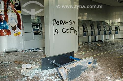 Assunto: Agência bancária do Banco do Brasil / Local: Centro - Rio de Janeiro (RJ) - Brasil / Data: 10/2013