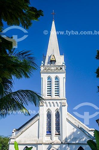 Assunto: Fachada da Igreja do Senhor Bom Jesus do Monte (1763) / Local: Paquetá - Rio de Janeiro (RJ) - Brasil / Data: 05/2014