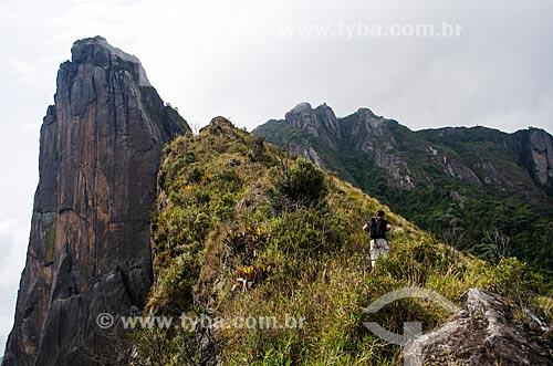 Assunto: Trilha no Parque Estadual dos Três Picos para às Torres de Bonsucesso / Local: Teresópolis - Rio de Janeiro (RJ) - Brasil / Data: 05/2014