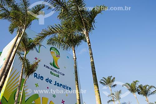Assunto: Entrada do Estádio Jornalista Mário Filho (1950) - também conhecido como Maracanã - antes do jogo entre Equador x França / Local: Maracanã - Rio de Janeiro (RJ) - Brasil / Data: 06/2014
