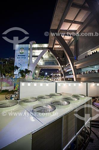 Assunto: Geradores na área externa do Estádio Jornalista Mário Filho (1950) - também conhecido como Maracanã - durante o jogo entre Equador x França / Local: Maracanã - Rio de Janeiro (RJ) - Brasil / Data: 06/2014
