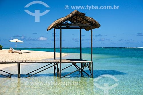 Assunto: Praia na Península Le Morne Brabant / Local: Distrito de Rivière Noire - Maurício - África / Data: 11/2012