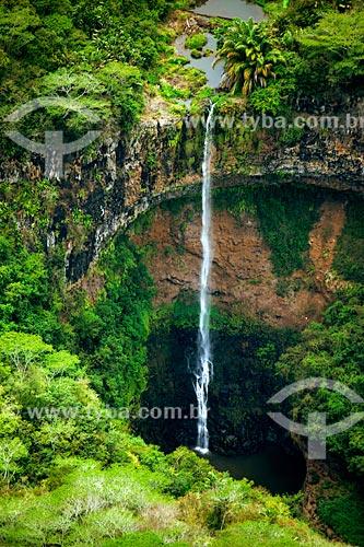 Assunto: Cachoeira de Chamarel / Local: Distrito de Rivière Noire - Maurício - África / Data: 11/2012