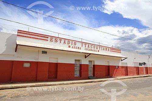 Assunto: Fachada do Estádio Municipal Helvídio Nunes de Barros / Local: Piripiri - Piauí (PI) - Brasil / Data: 03/2014