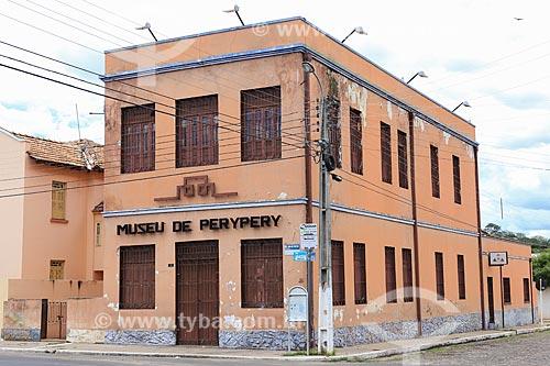 Assunto: Fachada do Museu de Piriri / Local: Piripiri - Piauí (PI) - Brasil / Data: 03/2014