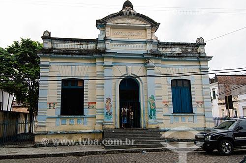 Assunto: Fachada de escola pública / Local: Cachoeira - Bahia (BA) - Brasil / Data: 12/2010