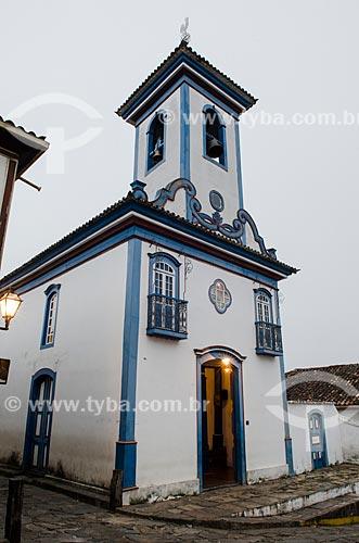 Assunto: Igreja de Nossa Senhora do Amparo / Local: Diamantina - Minas Gerais (MG) - Brasil / Data: 06/2012