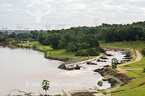 Assunto: Sistema de Transposição de Peixes (STP) próximo à Usina Hidrelétrica Itaipu Binacional / Local: Foz do Iguaçu - Paraná (PR) - Brasil / Data: 05/2008
