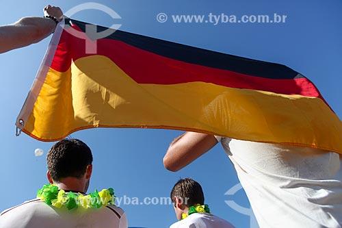 Assunto: Torcedores da alemanha no Fifa Fan Fest durante jogo entre Brasil x Alemanha / Local: Copacabana - Rio de Janeiro (RJ) - Brasil / Data: 07/2014