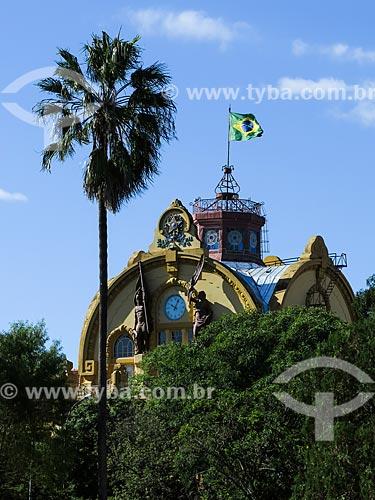 Assunto: Fachada do Colégio Militar de Porto Alegre (1872) / Local: Porto Alegre - Rio Grande do Sul (RS) - Brasil / Data: 04/2014