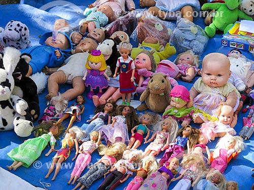 Assunto: Bonecas à venda no Brique da Redenção / Local: Porto Alegre - Rio Grande do Sul (RS) - Brasil / Data: 04/2014
