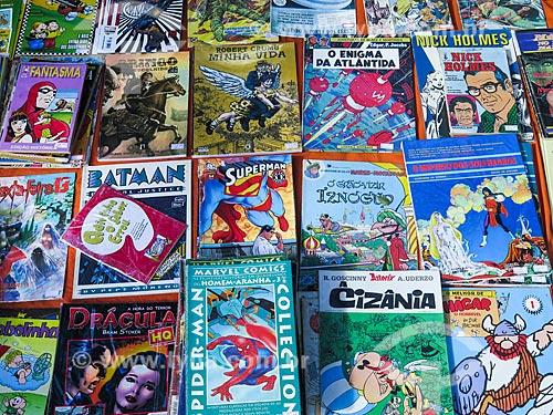 Assunto: Revista em quadrinhos à venda no Brique da Redenção / Local: Porto Alegre - Rio Grande do Sul (RS) - Brasil / Data: 04/2014