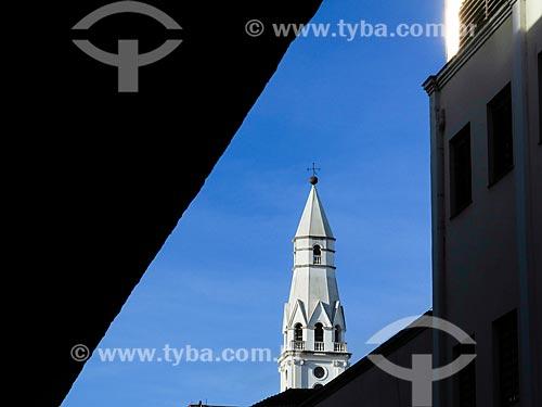 Assunto: Campanário da Igreja de Nossa Senhora das Dores (1901) / Local: Porto Alegre - Rio Grande do Sul (RS) - Brasil / Data: 05/2014