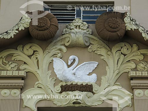 Assunto: Detalhe da fachada do edifício da Capitania dos Portos / Local: Porto Alegre - Rio Grande do Sul (RS) - Brasil / Data: 05/2014