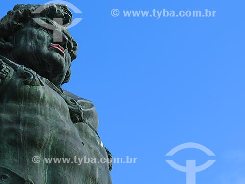 Assunto: Detalhe do Monumento a Júlio de Castilhos na Praça da Matriz / Local: Porto Alegre - Rio Grande do Sul (RS) - Brasil / Data: 05/2014