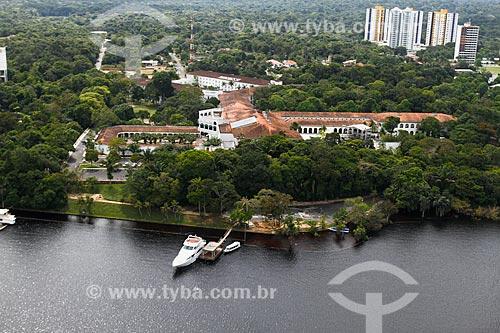 Assunto: Foto aérea do Hotel Tropical Manaus / Local: Manaus - Amazonas (AM) - Brasil / Data: 06/2014