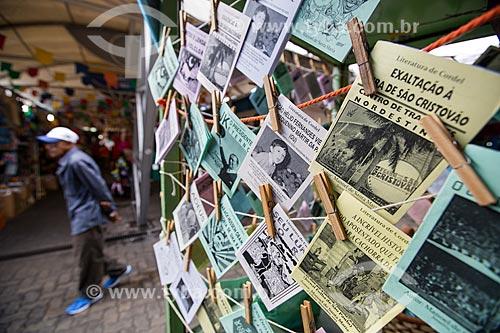 Assunto: Cordéis à venda no Centro Luiz Gonzaga de Tradições Nordestinas / Local: São Cristovão - Rio de Janeiro (RJ) - Brasil / Data: 05/2014