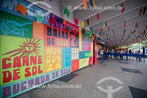 Assunto: Bilheteria do Centro Luiz Gonzaga de Tradições Nordestinas / Local: São Cristovão - Rio de Janeiro (RJ) - Brasil / Data: 05/2014