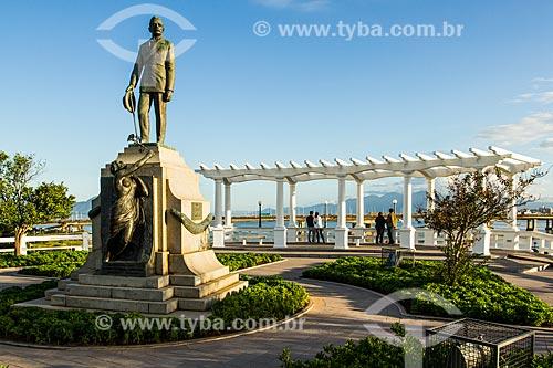 Assunto: Monumento em homenagem ao governador Hercílio Luz / Local: Florianópolis - Santa Catarina (SC) - Brasil / Data: 05/2014
