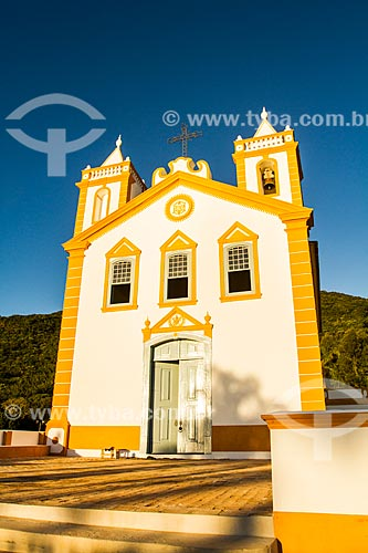 Assunto: Igreja Nossa Senhora da Lapa (1806) / Local: Ribeirão da Ilha - Florianópolis - Santa Catarina (SC) - Brasil / Data: 06/2014